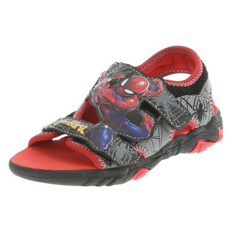 Boys' Toddler Spiderman Lighted Sandal