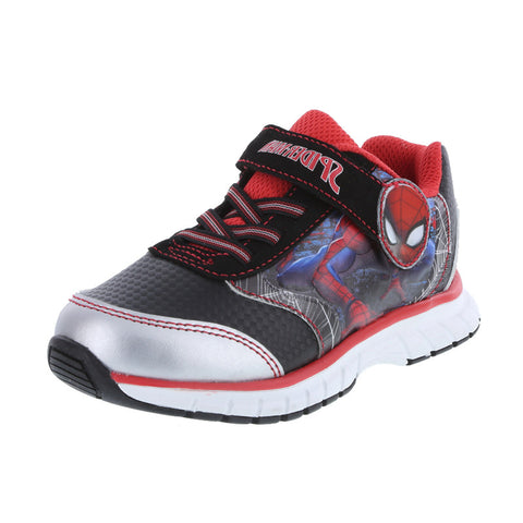 Boys' Toddler Spiderman Lighted Runner