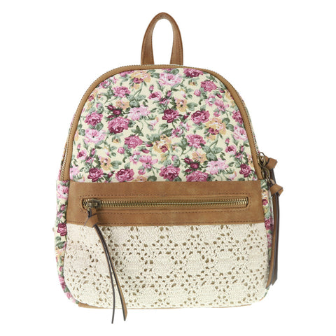 Women's American Eagle Crochet Backpack