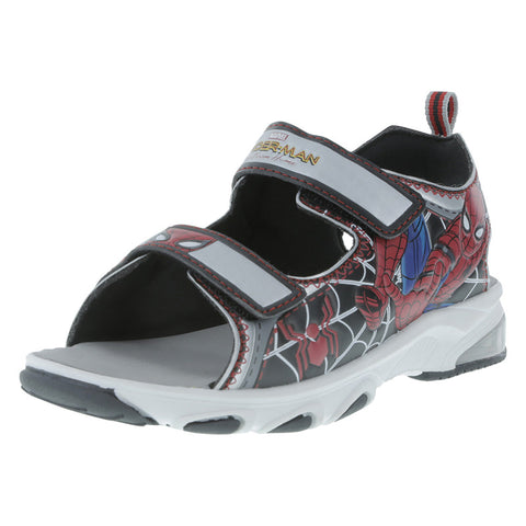 Boys' Spiderman Lighted Sandal
