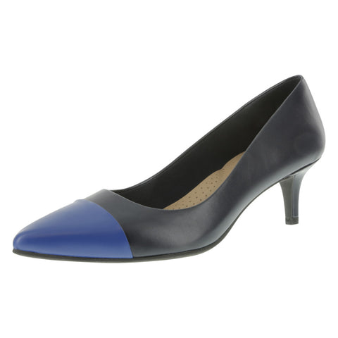 Women's Pointed-Toe Low-Heel Pump
