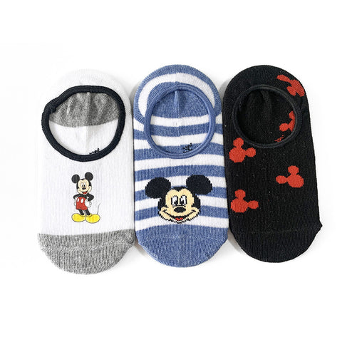 Kids' Mickey 3 Pack Socks