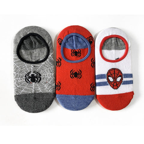 Kids' Spiderman 3 Pack Socks