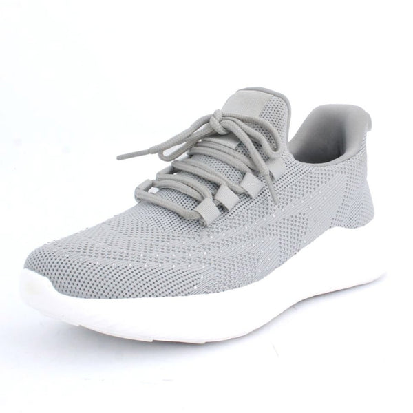 Women's Knit Sport shoe with Rhinestones