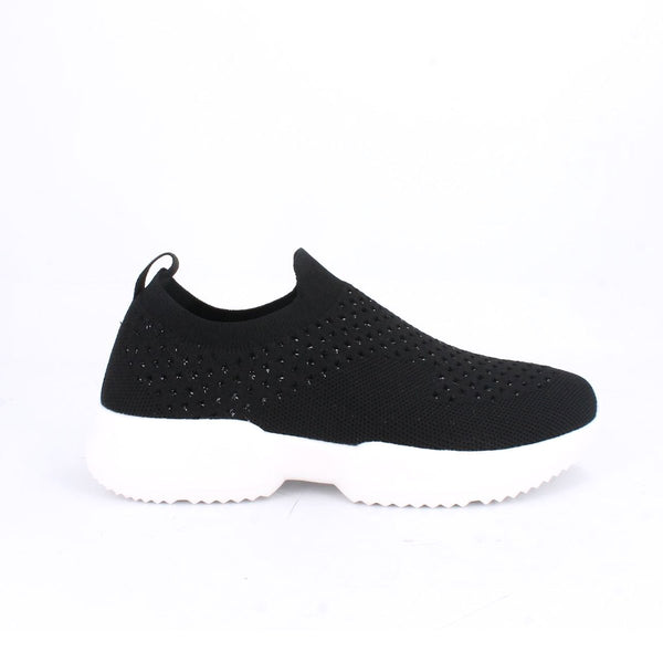 Womem's Slip On  Shimmer Knit Sport shoe