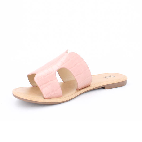 Women's H band  Flat Sandal