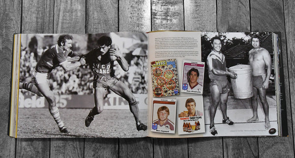 RUGBY LEAGUE BOOK - League On Sunday - Work On Monday, Memories of Rugby League's Last Golden Era 1965-1995