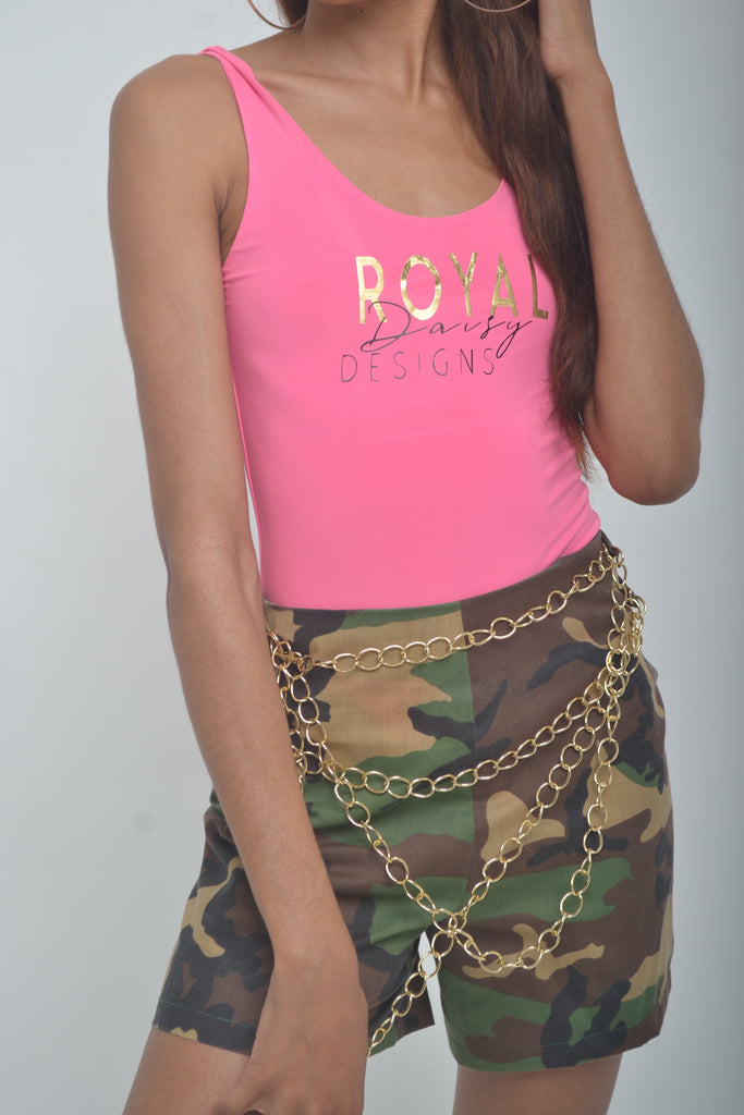 Army Gurl Shorts