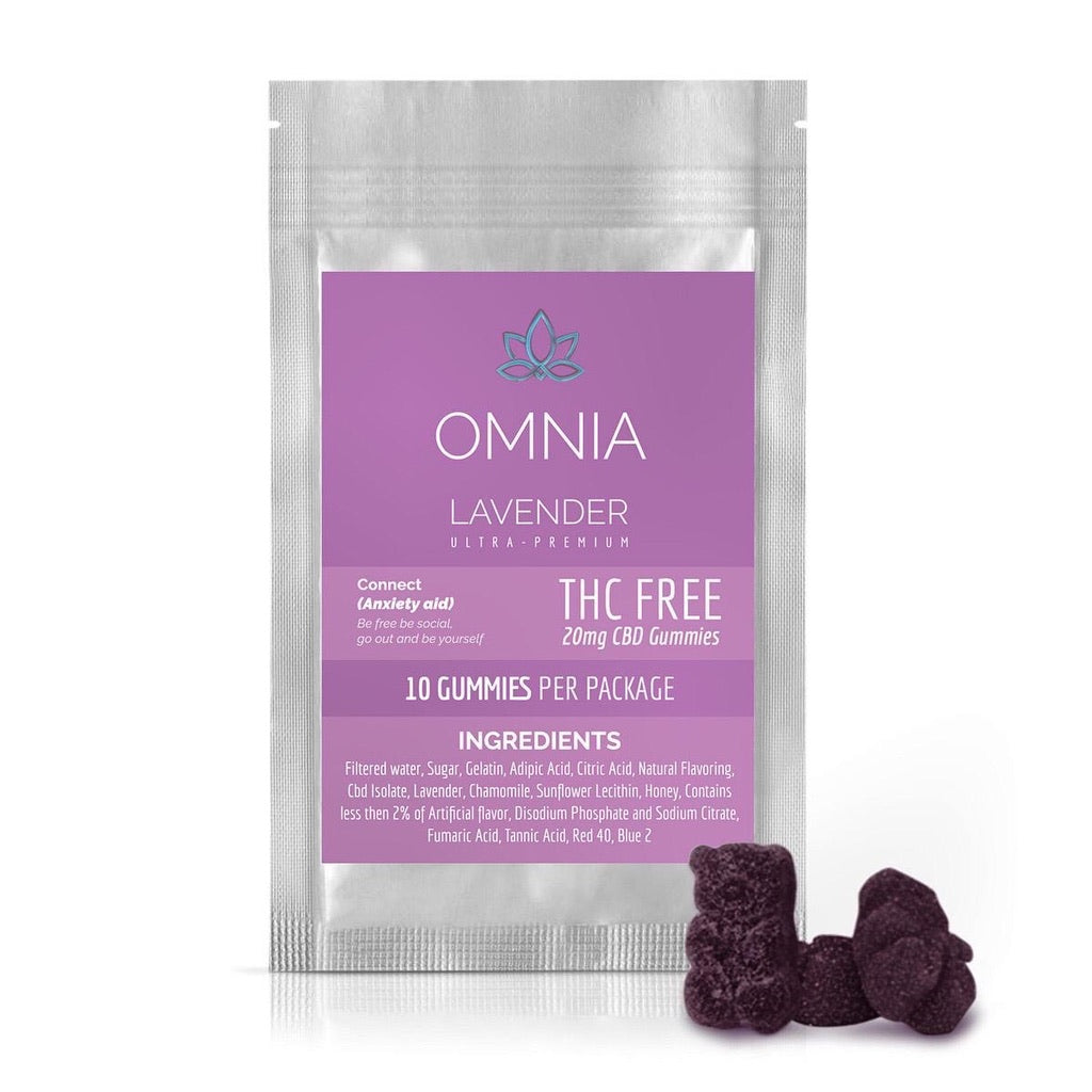 THC FREE LAVENDER CONNECT CBD GUMMIES
