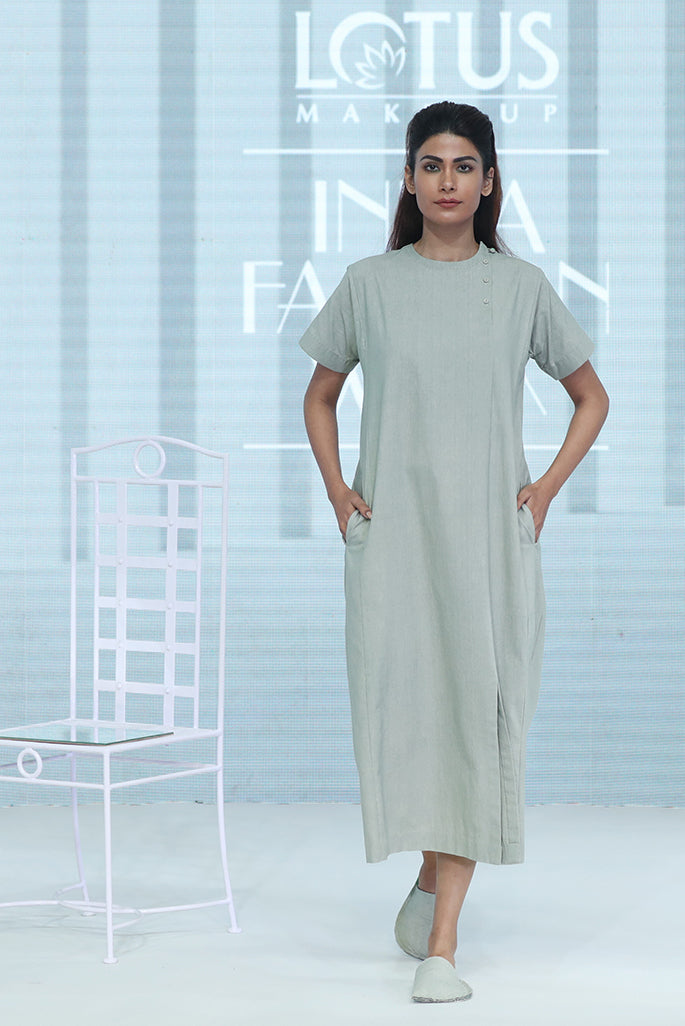 Khadi Shift Dress - Dhi