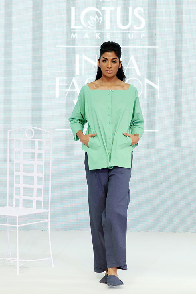 Super Soft Organic Cotton Flared Shirt - Dhi