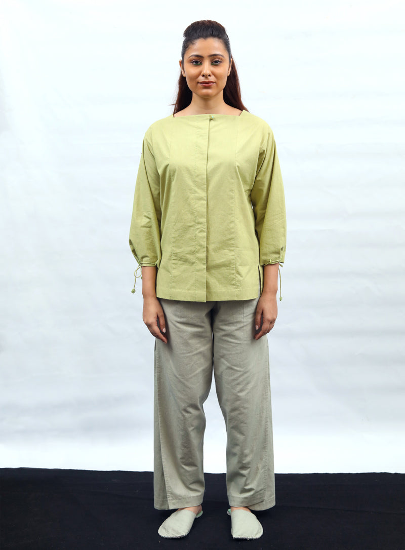 Comfort fit top with adjustable cords - Dhi