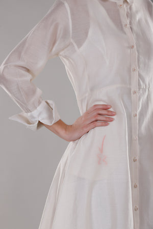 Dhi Dress with French cuffs - Dhi