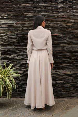 Flared Skirt Pale Pink - Dhi
