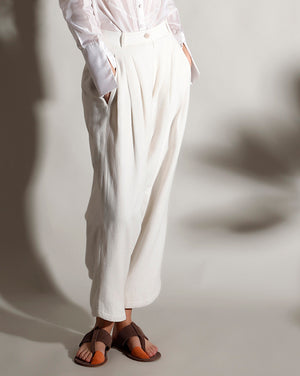 Tapered Cropped Salwar Pants - Dhi