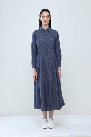 Cotton Slub Dhi Dress - Dhi