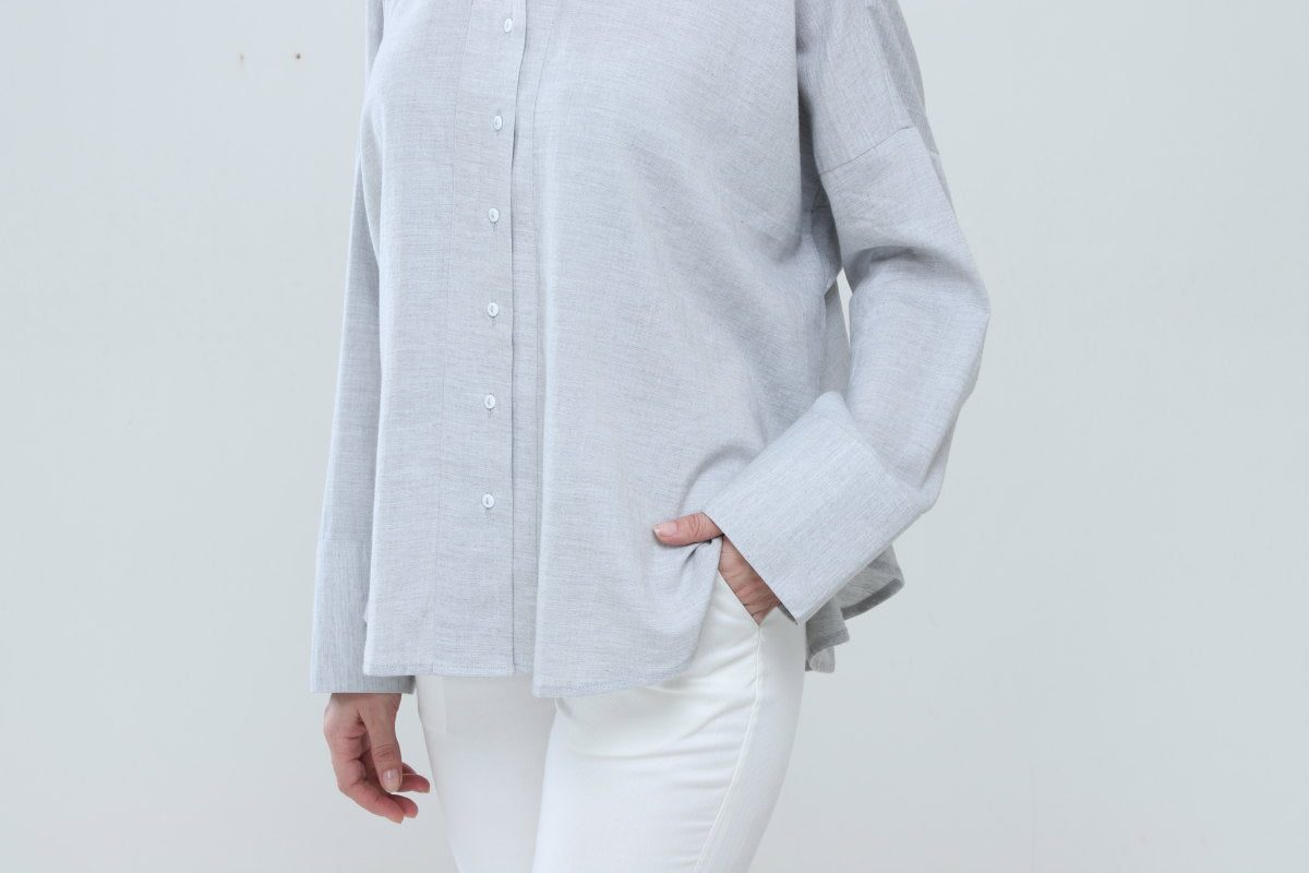 Exaggerated Gusset Shirt - Dhi