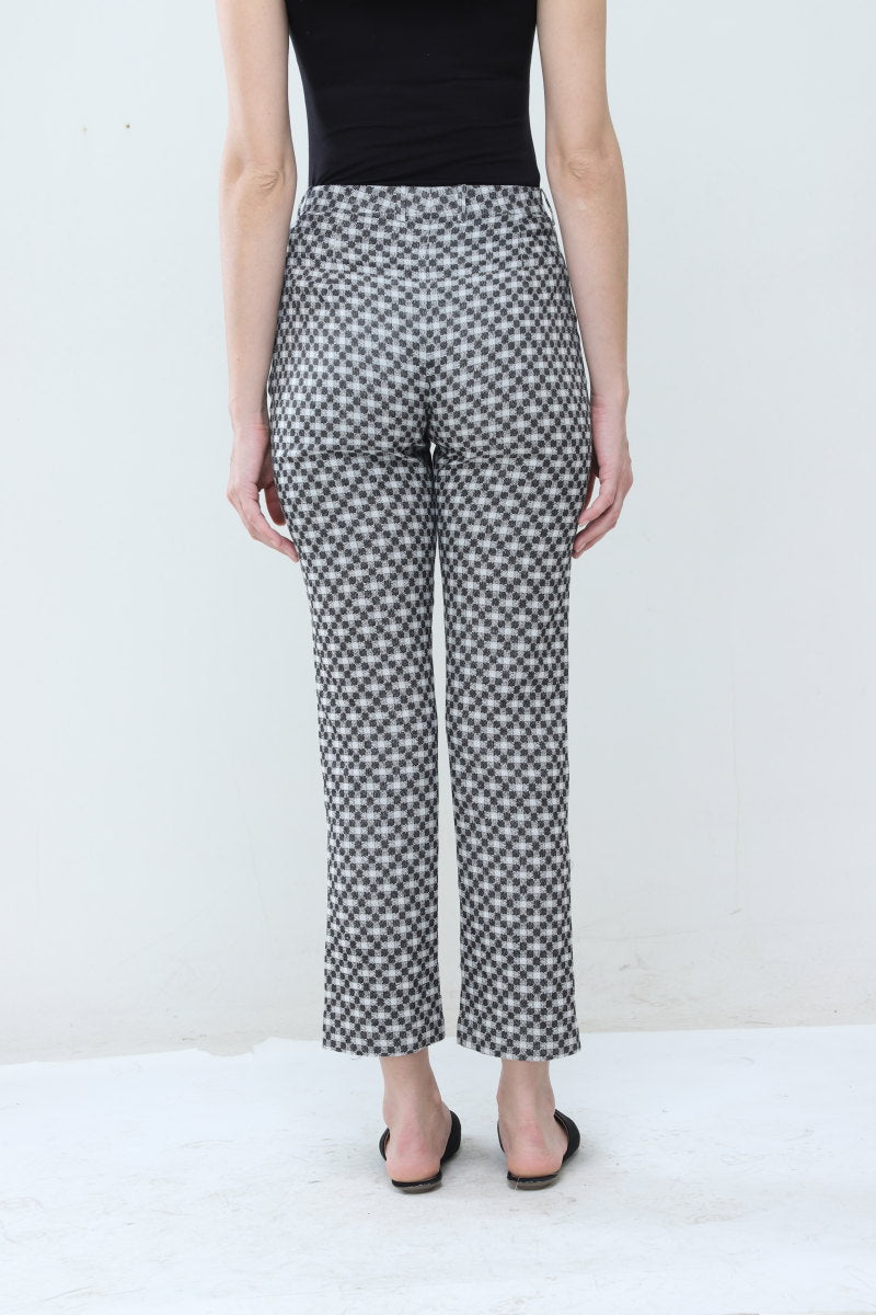 Jaquard Slim Pants - Dhi
