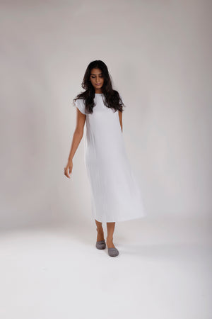 Super Soft Stripe  Shift Dress - Dhi