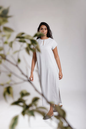 Super Soft Cotton Shift Dress - Dhi