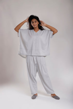 Relaxed Fit Salwar Pants - Dhi