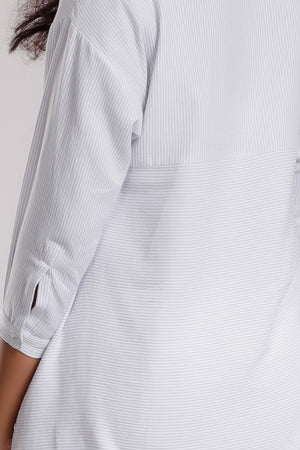 Striped Relaxed Fit Shirt - Dhi