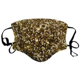 5 Pack of Glitter Adult Mask