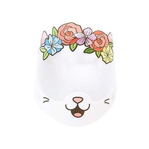 Adult Cat Flower Crown Face Shield
