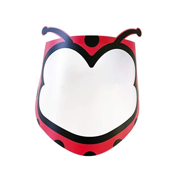 Children Ladybug Face Shield