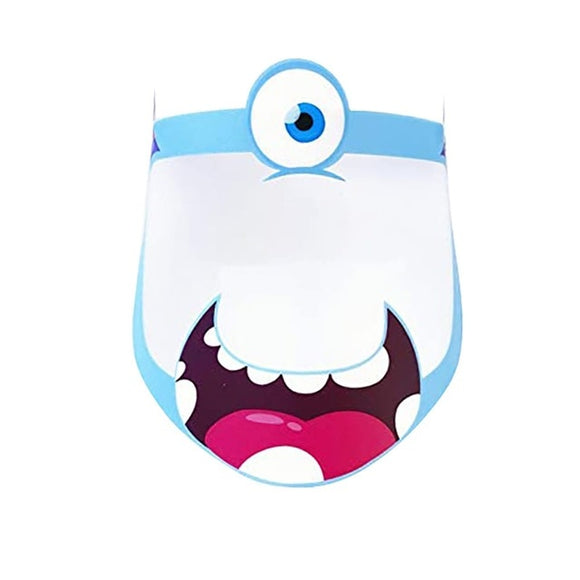 Children Monster Face Shield