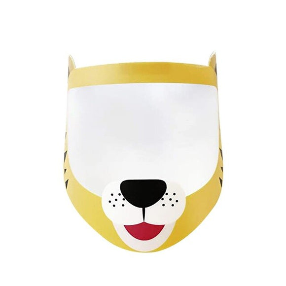 Children Tiger Face Shield