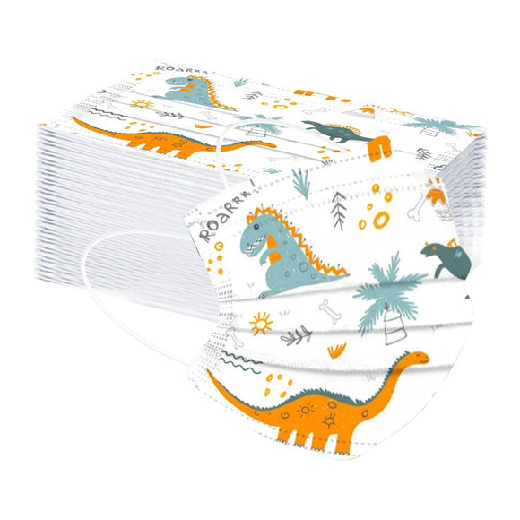 Dinosaur Children Masks (50 pieces)