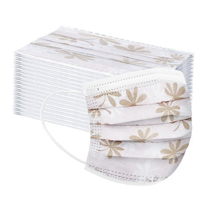 Adult Disposable Masks in Floral (50 pieces)