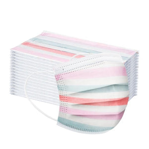 Adult Disposable Masks Pink Popsicle (50 pieces)