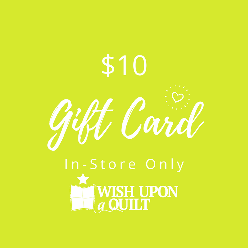 $10 Physical Gift Card