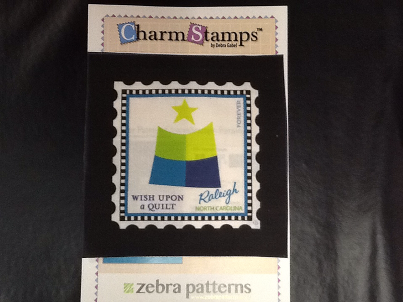 Charm Stamps- Wish Upon a Quilt