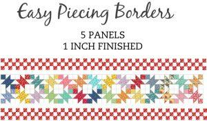 Easy Piecing 1 inch Border Grid Panels