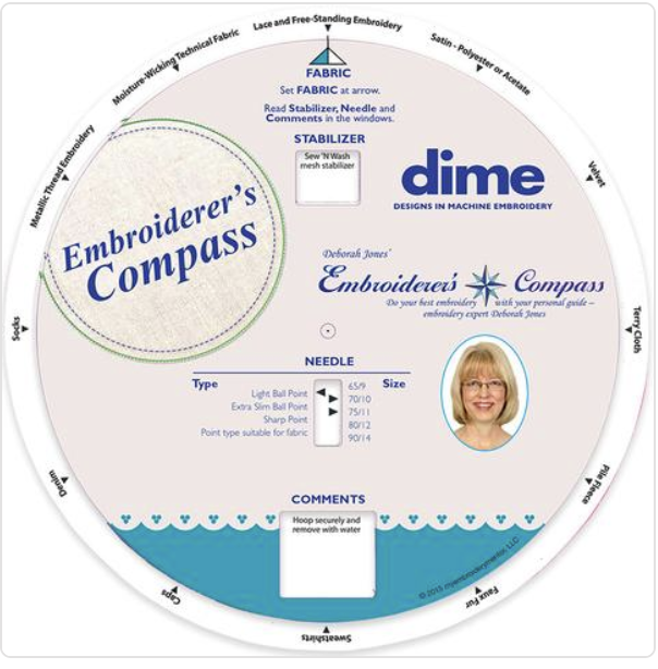 Embroiderer's Compass