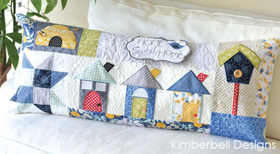 Home Sweet Home Bench Pillow Fabric Kit
