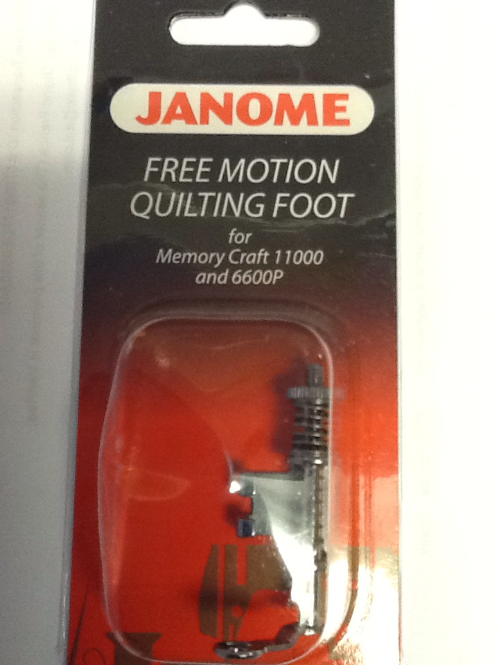Janome Free Motion Quilting Foot