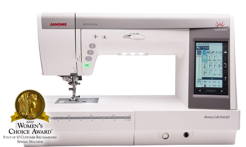Janome Memory Craft 9450 - In-Store Only