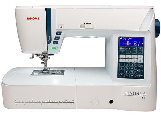 Janome Skyline S6 - In-Store Only