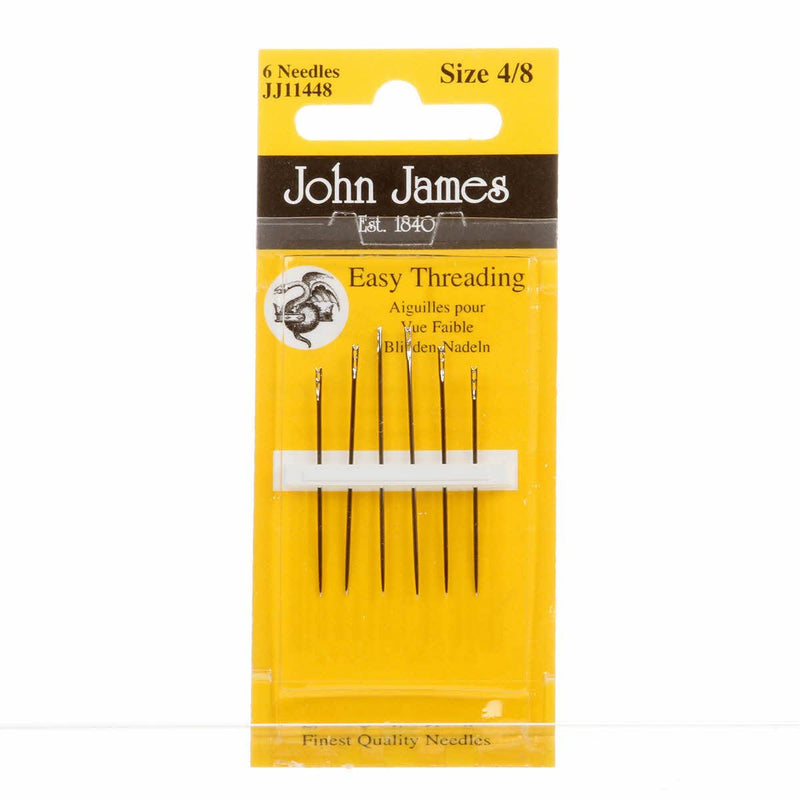 John James Easy Threading Hand Needles