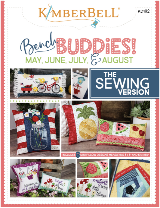 Kimberbell Bench Buddies- Sewing Book KD192