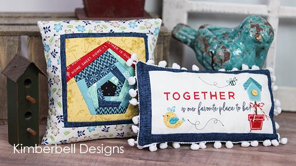 Kimberbell Bench Buddy Pillows  - August  Kit