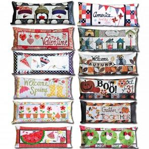 Kimberbell Bench Pillows Kit of the Month with Pattern