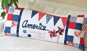 """Land That I Love"" Bench Pillow Fabric Kit"