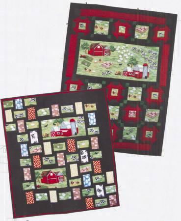 Postcards From The Farm Panel Quilt Pattern