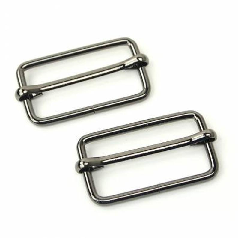 "Sallie Tomato Slider Buckle 1 1/2""  Black"