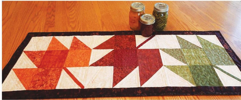 Seasonal Fall Table Runner Pattern